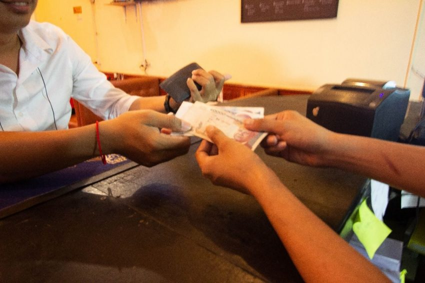 Cambodia uses both Cambodia Riel and US Dollar currencies